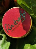 Lily-Flame candle- Rhubarb